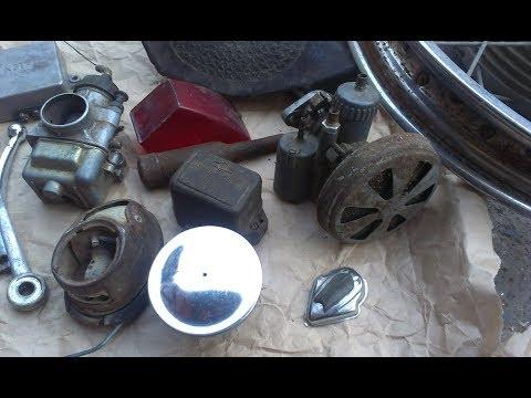 НЕРЕАЛЬНЫЕ НАХОДКИ НА МЕТАЛЛОЛОМЕ #4 Находки Ретро Запчастей и что можно найти на приеме металла