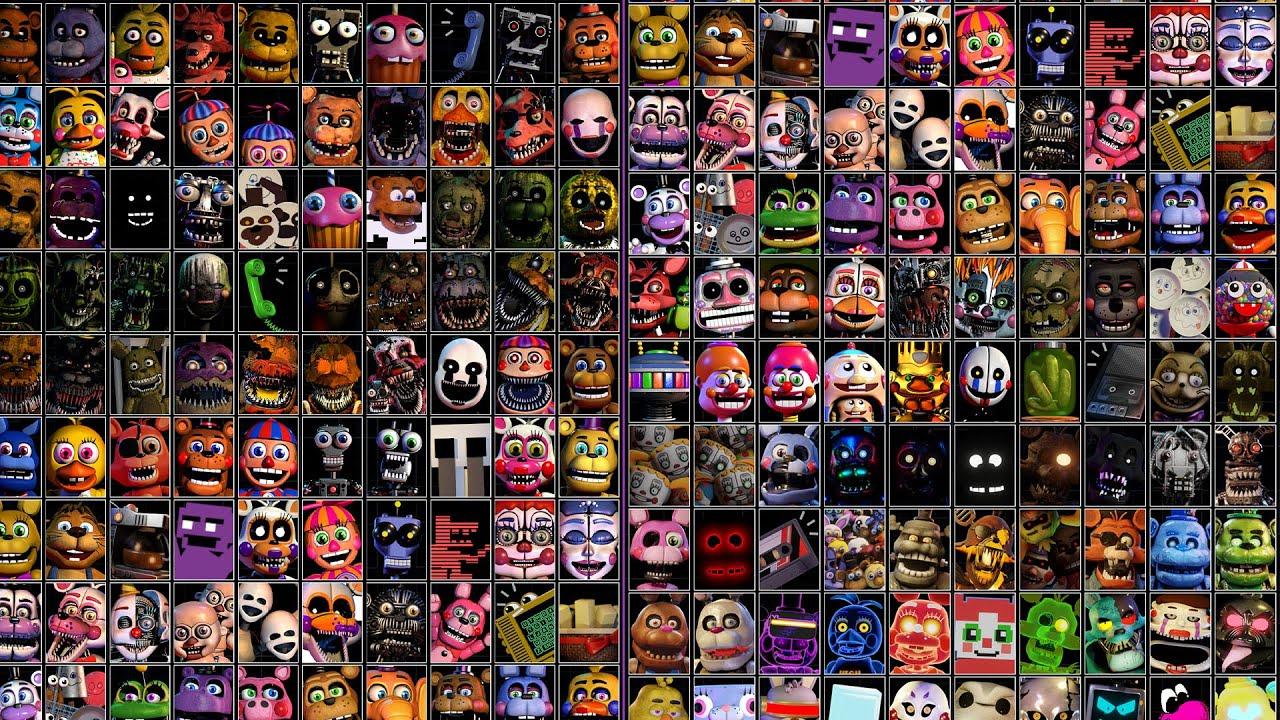 Ultra Custom Night es una LOCURA + de 200 ENEMIGOS !! (FNAF Game)