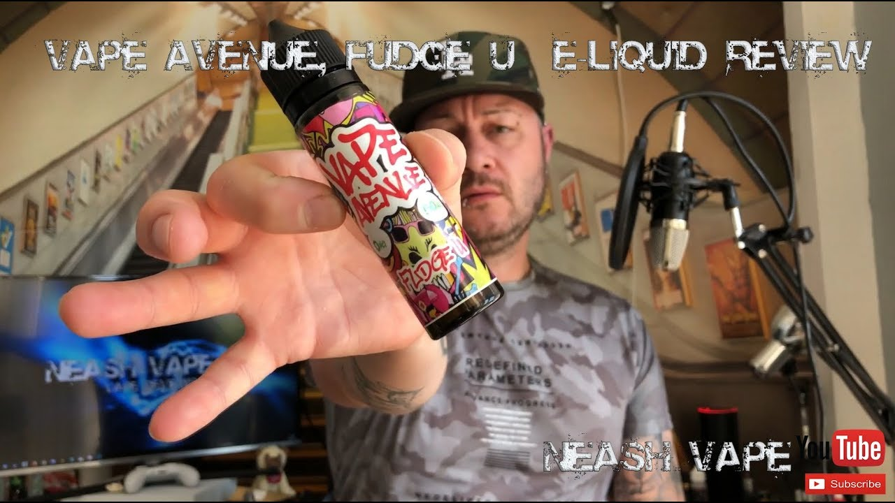 Vape Avenue, Fudge U - E-Liquid Review (Another Vapeabox)