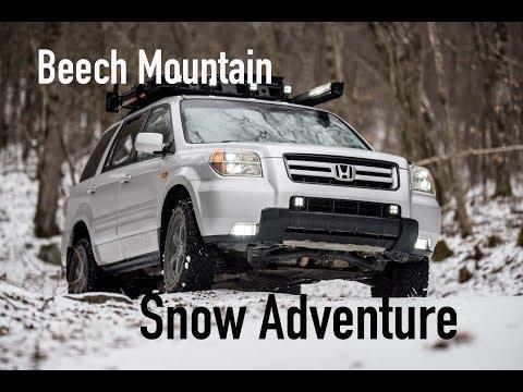 Snow Adventure: Sledding, Skiing, Caves, Salamanders, and more