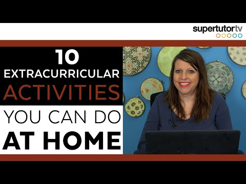10 At-Home Extracurricular Activities!