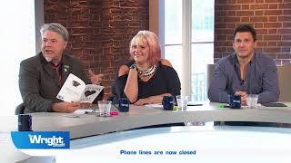 Comic Mark Little gives us a reading from his new book of poetry 'Part One'! #Wrightstuff
