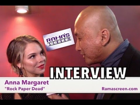 My 'ROCK PAPER DEAD' Premiere  with Anna Margaret