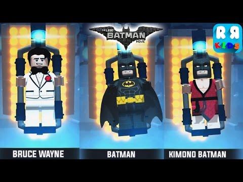 The LEGO Batman Movie Game - Play with Bruce Wayne, Batman and Kimono Batman Part 33