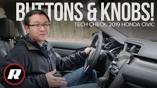 Tech Check: 2019 Honda Civic's Display Audio system, now with buttons and knobs