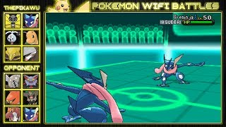 The Greninja Duel! (Pokemon X and Y Wifi Battle)