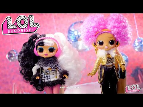 LOL Surprise! Winter Disco O.M.G. Outrageous Millennial Girls™ Commercial
