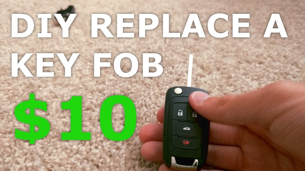 Diy Replacement Of A Chevrolet Key Fob Camaro Cruze Equinox