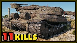 Object 705A - 11 Kills - World of Tanks Gameplay