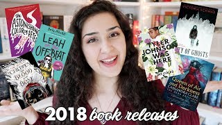 Most Anticipated Books of 2018!
