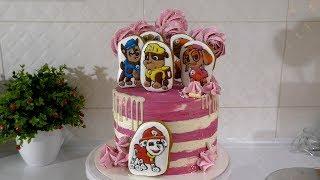 КРЕМОВЫЙ ТОРТ  Детский торт на День рождения ЩЕНЯЧИЙ ПАТРУЛЬ ЛУЧШИЙ ТОРТ ТОППЕРЫ ДЛЯ ТОРТА