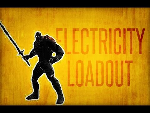 dcuo dps electricity loadout youtube