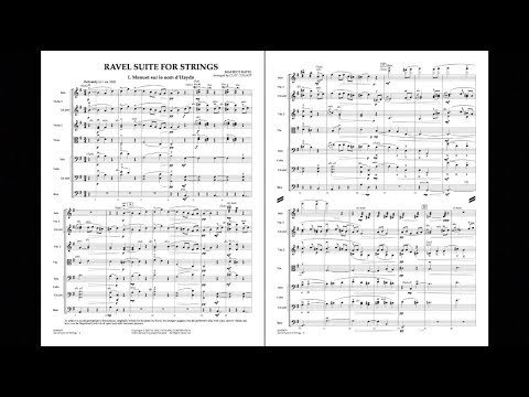 Ravel Suite for Strings arranged by Cliff Colnot