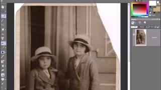 Видеоурок «Восстановление поврежденных фотографий»