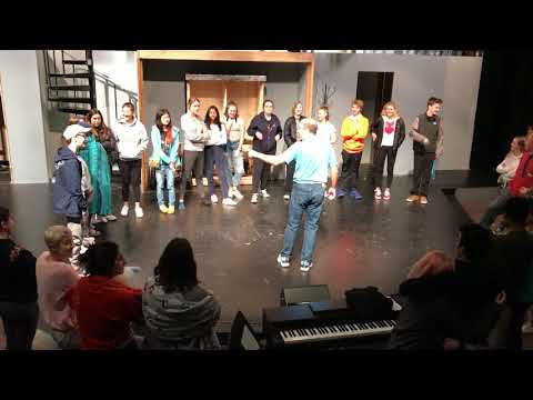 Behind the Scenes: 2017 Seattle Academy Fall Musical Tech Rehearsal
