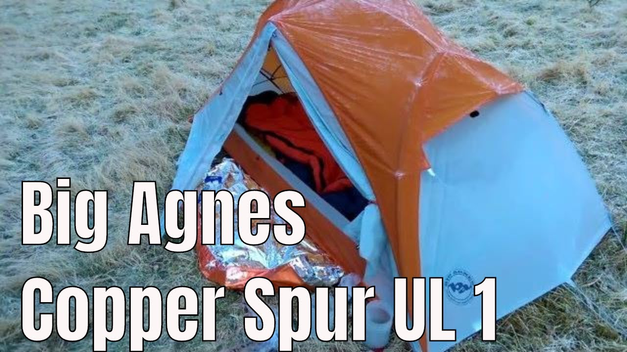 Wild c& impression of Big Agnes Copper Spur UL1 Part 1 & Wild camp impression of Big Agnes Copper Spur UL1 Part 1 - YouTube