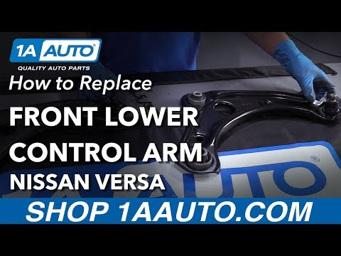 How to Replace Lower Control Arm 13-17  Nissan Versa