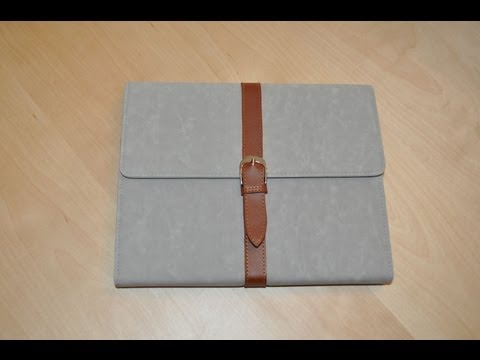 The HiShop Luxury Stand Button Case For IPad