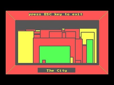 IBM PC - The City (1981) by IBM Corp.