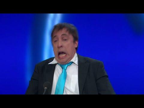 Per Andersson drabbas av bergochdalbana - Parlamentet (TV4)