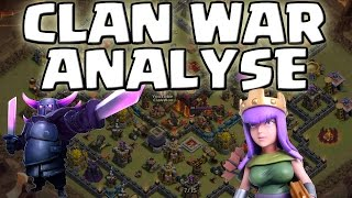 CLAN WAR ANALYSE || CLASH OF CLANS || Let's Play CoC [Deutsch/German HD Android iOS PC]