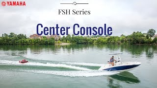 2017 Yamaha FSH Series Center Console Jet Boats