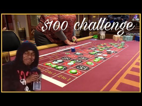 Live Roulette The $100 Challenge