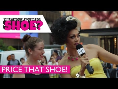Price That Shoe in Times Square NYC w/ Manila Luzon | What Would You Do For Shoe? Ep 4