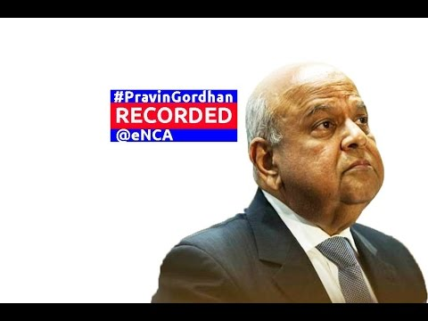 Pravin Gordhan addresses the Investment Summit