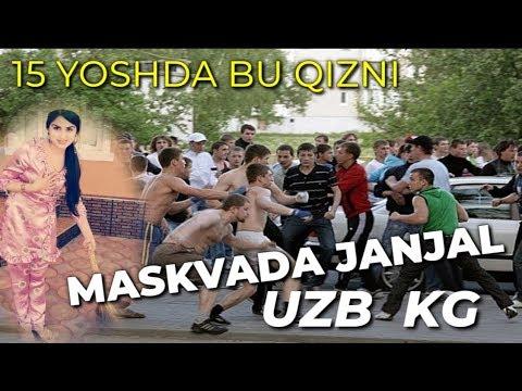 15 yoshda BU QIZ. MASKVADA JANJAL UZB KG
