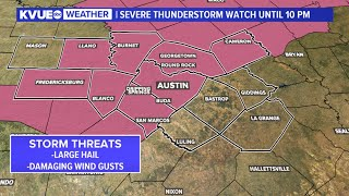 LIVE RADAR: Severe Thunderstorm Watch issued for Austin area | KVUE