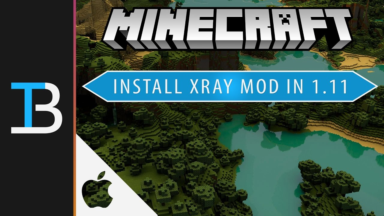 How to Install X-Ray Mod in Minecraft 122.122122 on a Mac (See Through Blocks in  Minecraft 122.122122 for Mac!)