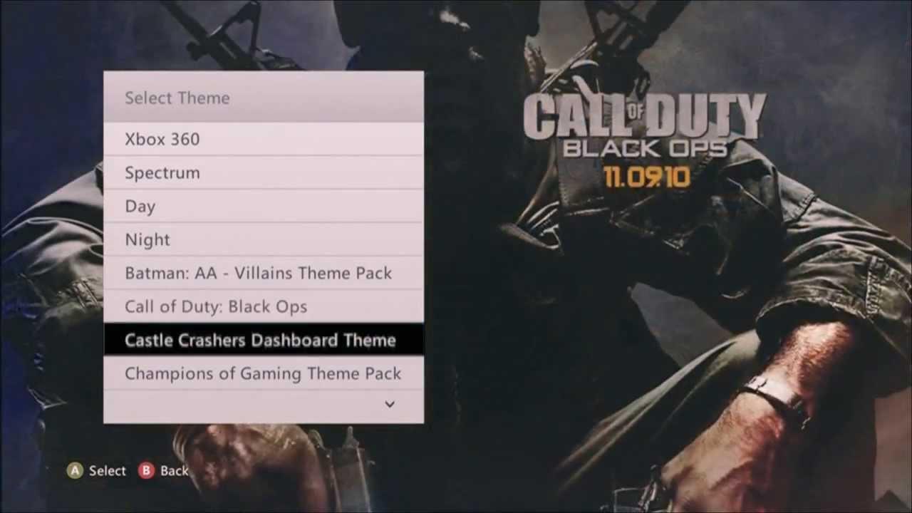 free premium themes xbox 360 youtube