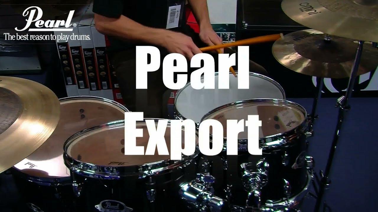 Pearl Export Drum Kit Demo