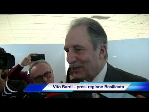 Intervista al presidente della regione Basilicata ...