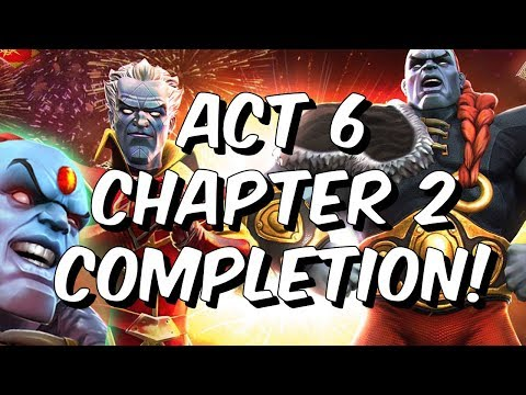 Act 6 Chapter 2 Completion! - 6.2 Power Stone Champion Boss!?! - Marvel Contest of Champions