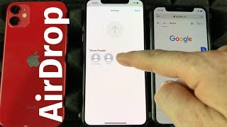 How to Use AirĎrop on iPhone 11 | Transfer pictures, videos, files