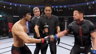Bruce Lee vs. Beavis (EA Sports UFC 2)