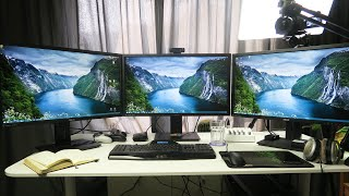 ULTIMATE GTA 5 PC GAMING SET UP - 4K 60FPS TRIPLE MONITORS