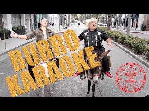 JOEY MONTANA Y DON CHETO EN EL BURRO KARAOKE - BEHIND THE SCENES