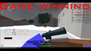 Kid freaks out over noscope kill (ROBLOX)
