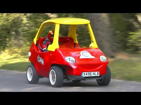 Little Tikes Cozy Coupe: Adult-sized road-going version!