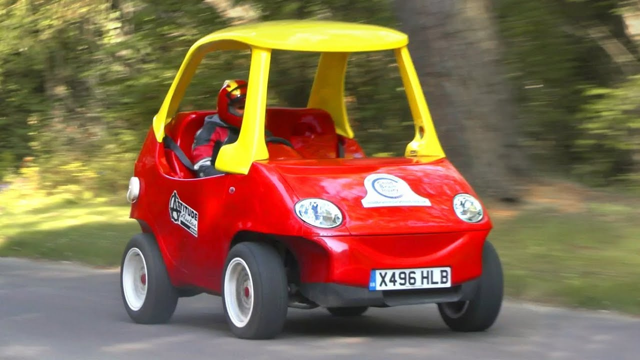 Little Tikes Cozy Coupe Sized Road Going Version