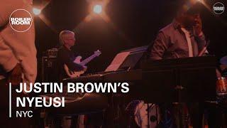 Justin Brown's NYEUSI Boiler Room New York Live Set