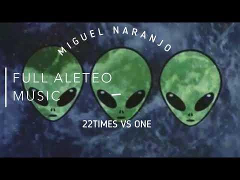 22 TIMES VS ONE - MIGUEL NARANJO (Guaracha, Aleteo, Zapateo, Tribal) 2018