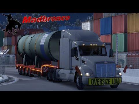 ats Driver for Hire ep59 - Maniwaki - Kingston (35t Large Pipe)