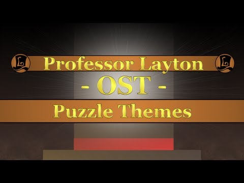 Professor Layton OST - All Puzzle Themes (V.1 No Lady Layton)