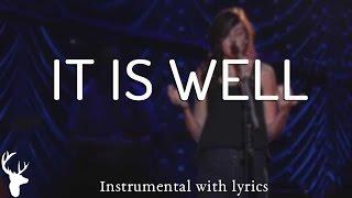 IT IS WELL (Bethel Music) - Acoustic Instrumental [Piano Karaoke with Lyrics]
