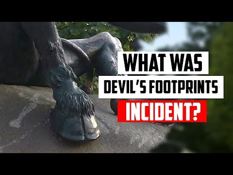 "The ""Devil's Footprints"" Incident Explained"