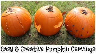 Diy Easy & Creative Pumpkin Carvings | Alexa's Diy Life